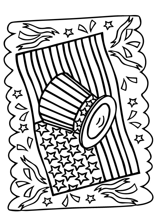 4th Of July Coloring Pages Books