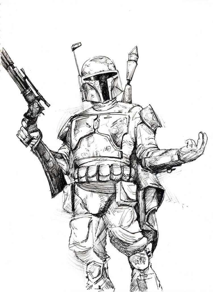 ▷ Boba Fett: Coloring Pages & Books - 100% FREE and printable!