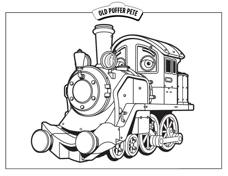 Chuggington Coloring Pages Books 100 Free And