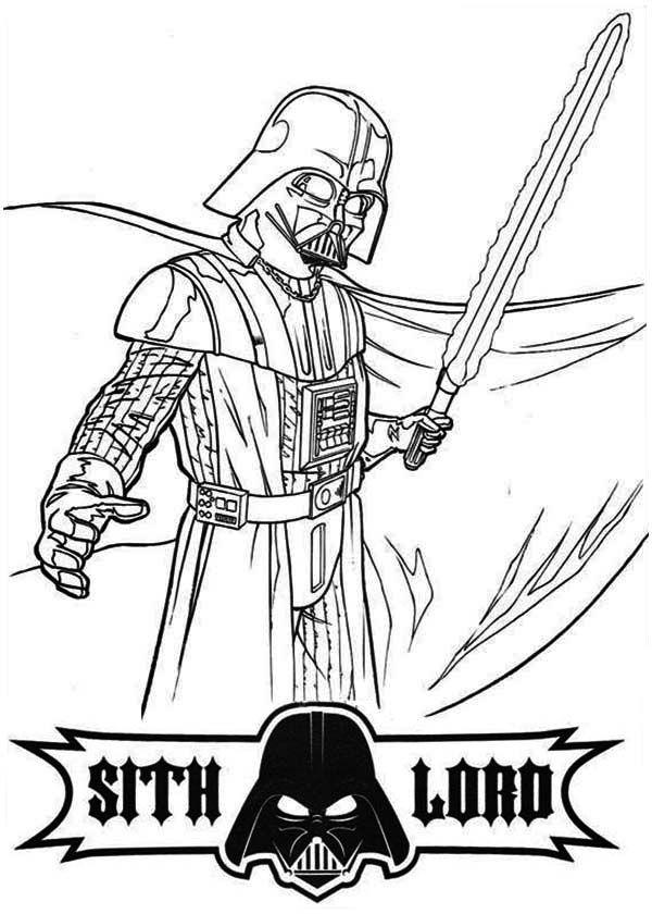 Darth Vader Coloring Pages Amp Books 100 Free And Printable