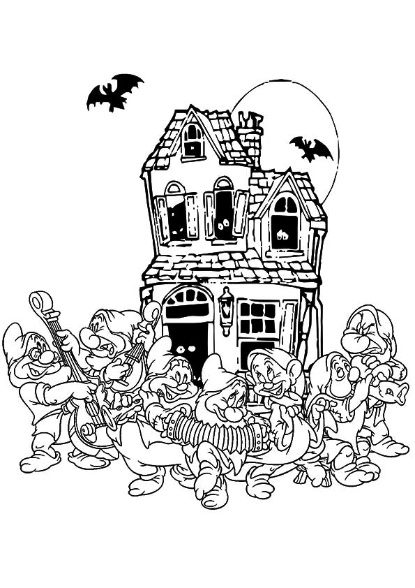 Disney Halloween Cliparts - Minnie Halloween Coloring Pages - Png ... | 842x595