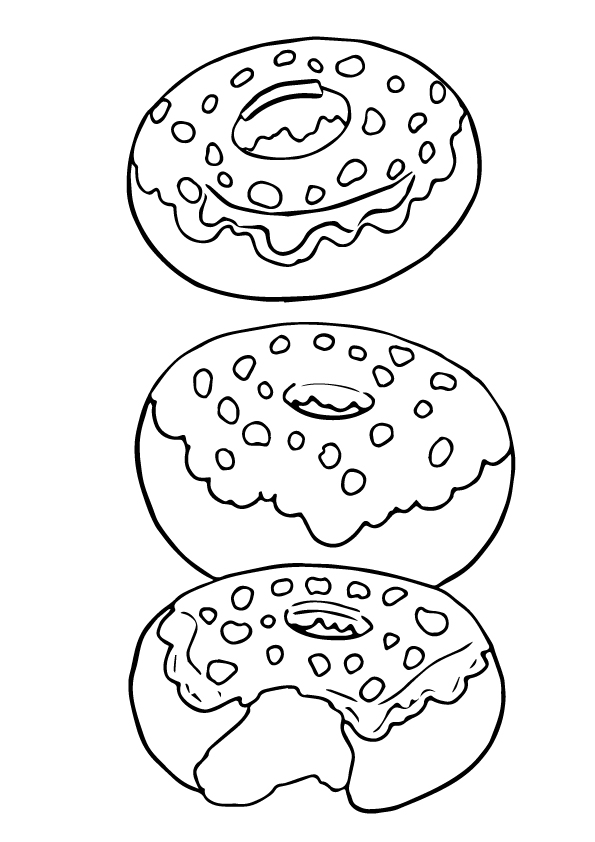 donut coloring page 0004 q4