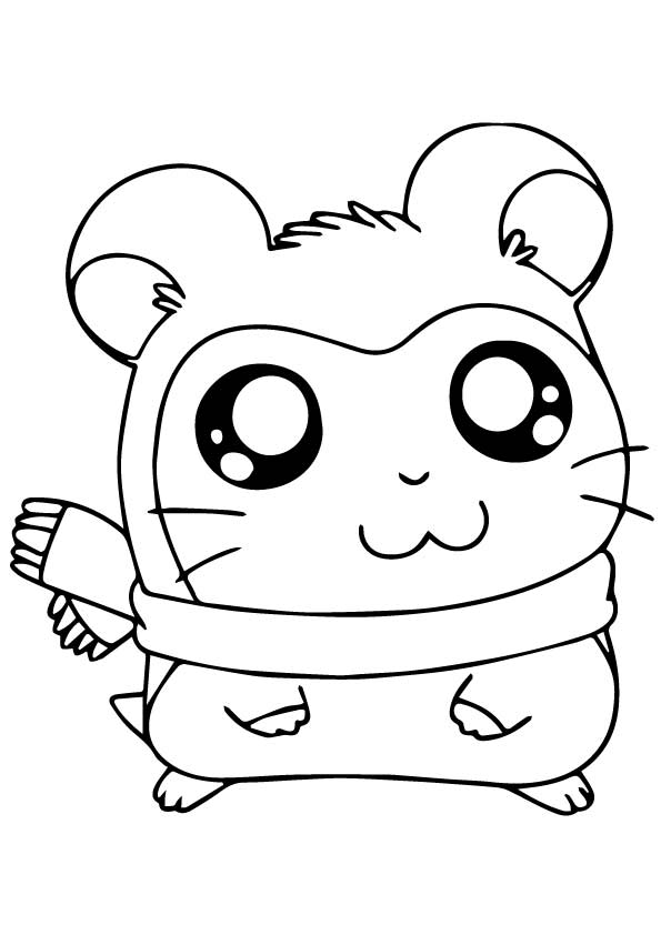 Guinea Pig: Coloring Pages & Books - 100% FREE and printable!