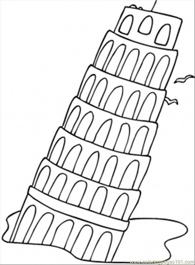 Italy Coloring Pages Books 100 Free And Printable
