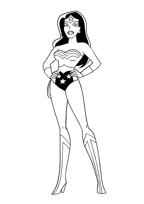 Justice League Unlimited Jumbo Coloring and Activity Book #4 | 842x595