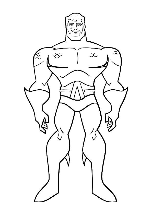 Justice League Coloring Pages - GetColoringPages.com | 842x595