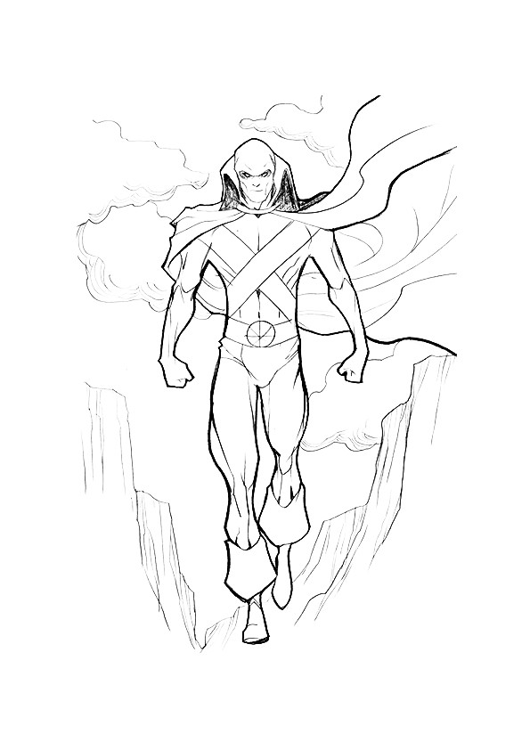 Justice League Coloring Pages Books 100 Free And Printable