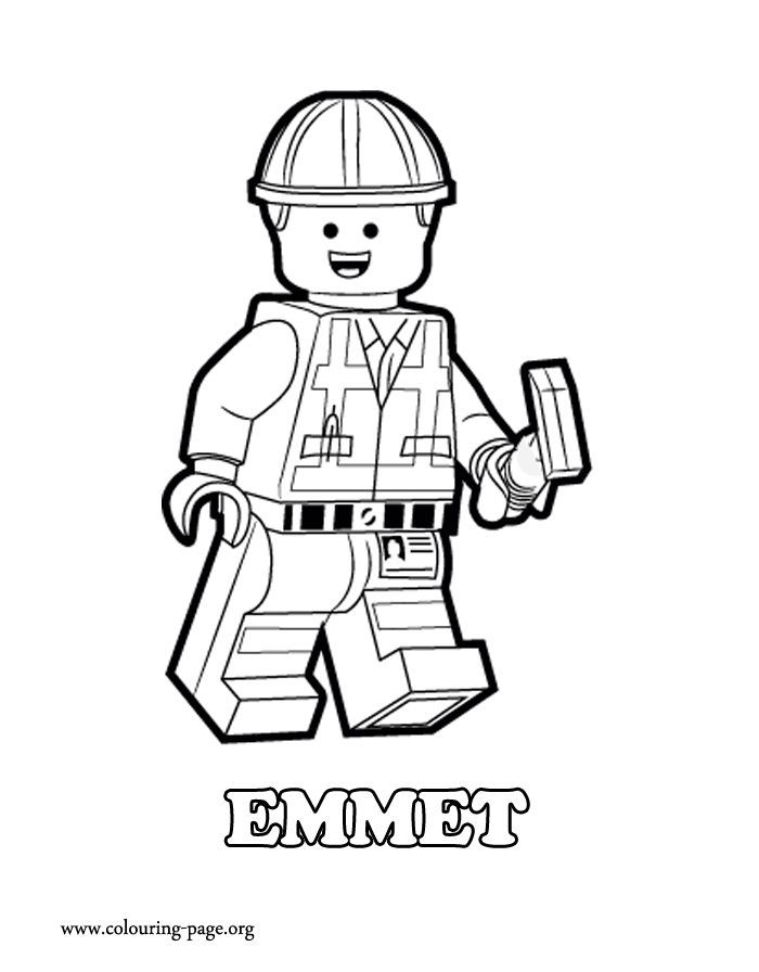 The Lego Movie Coloring Pages Books 100 Free And Printable