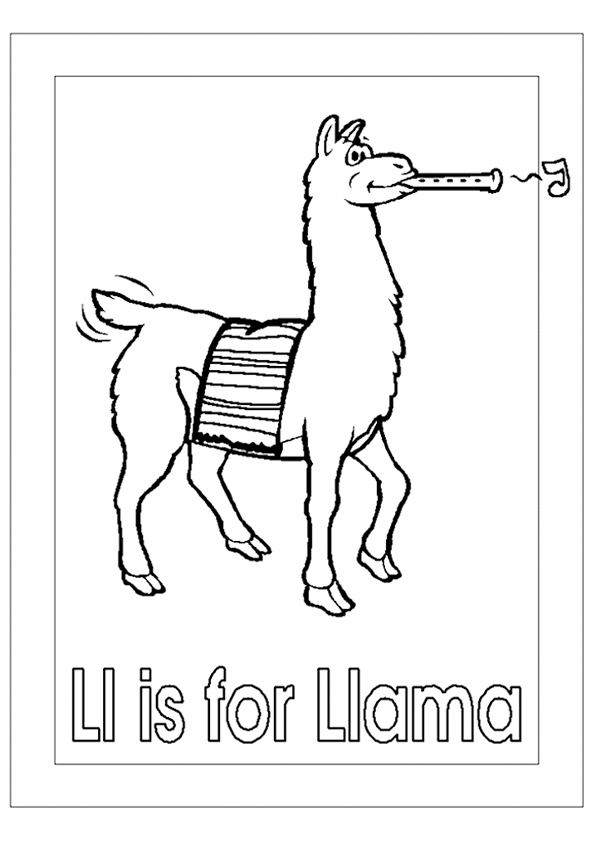 Llama Coloring Pages Books 100 Free And Printable