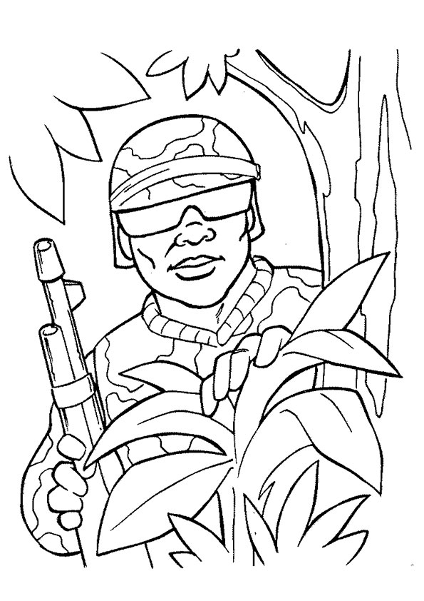 ▷ Military: Coloring Pages & Books - 100% FREE and printable!