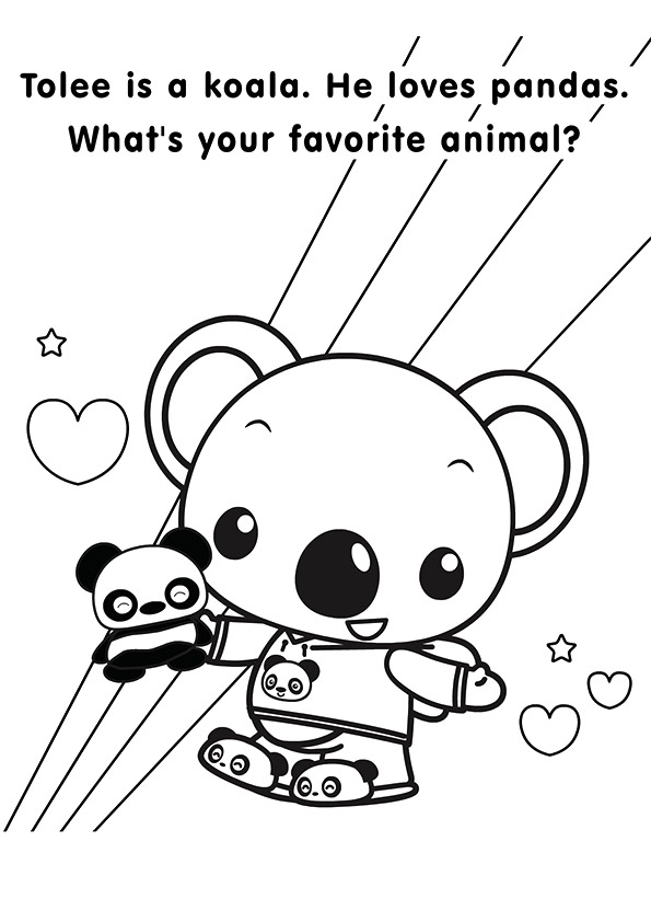 ni hao kailan coloring pages amp books 100 free and