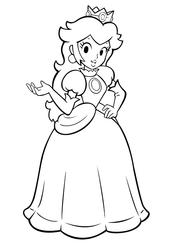 Peach  Coloring Pages  U0026 Books