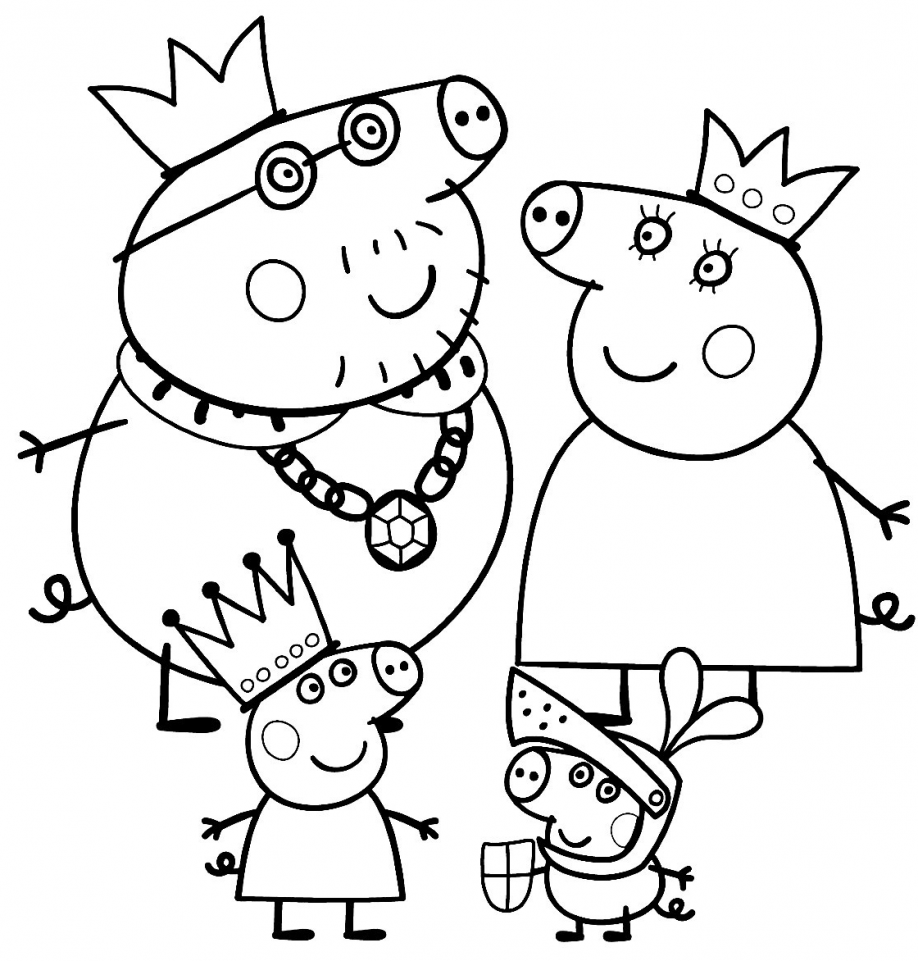 ▷ Peppa Pig: Coloring Pages & Books - 100% FREE and printable!