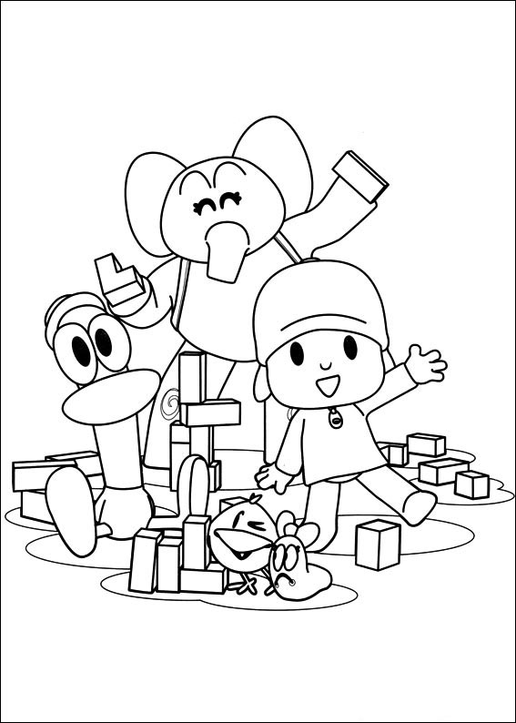 Pocoyo: Coloring Pages & Books - 100% FREE and printable!
