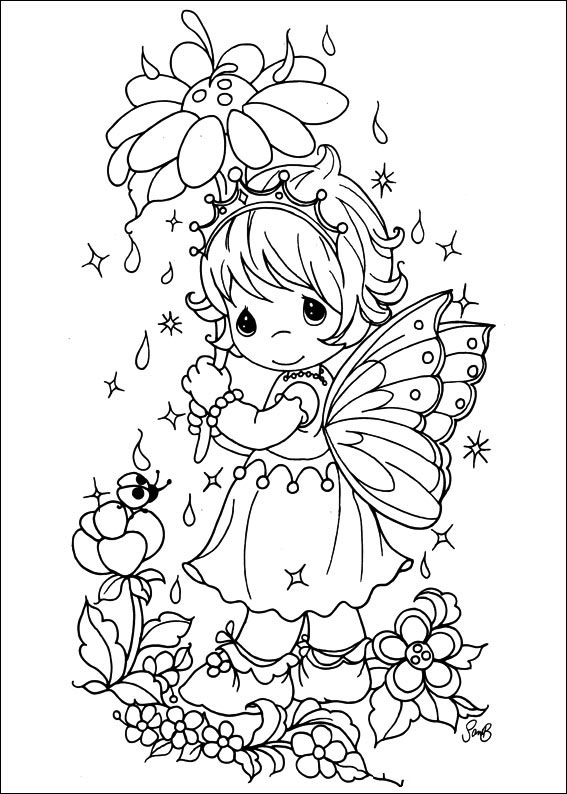- ▷ Precious Moments: Coloring Pages & Books - 100% FREE And Printable!