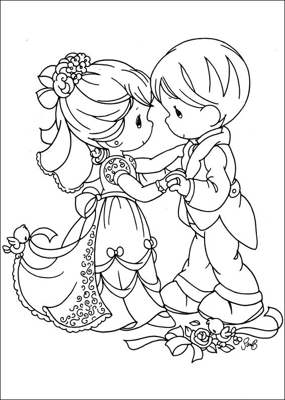 Precious Moments Coloring Pages Books 100 Free And