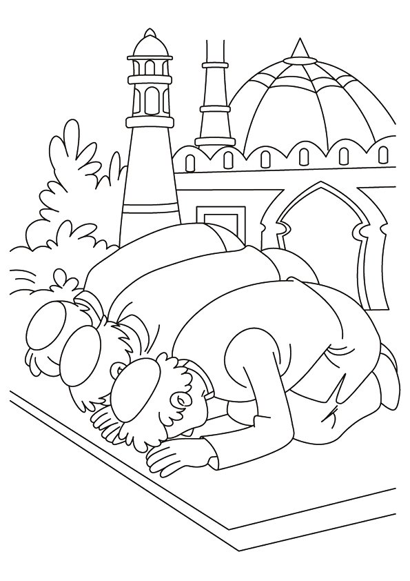 7300 Ramadan Coloring Book Pdf HD
