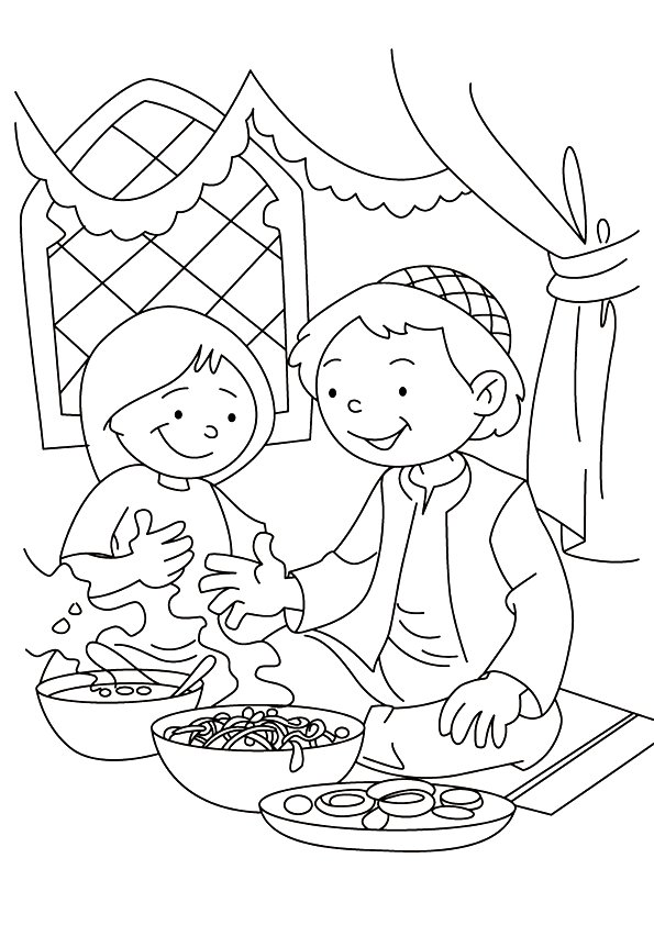 Ramadan Coloring Pages Books 100 FREE and printable