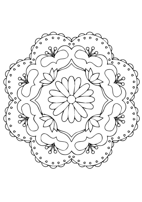 Rangoli Coloring Pages Books