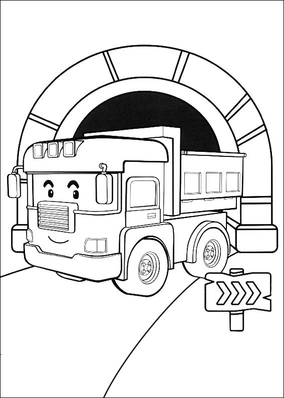 Robocar Poli Coloring Pages Amp Books 100 Free And