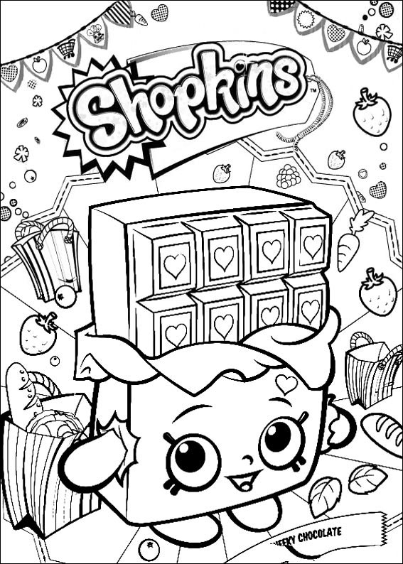 ▷ Shopkins: Coloring Pages & Books - 100% FREE And Printable!
