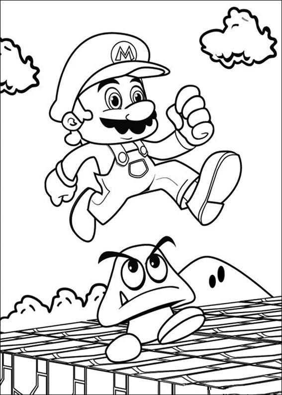 - ▷ Super Mario: Coloring Pages & Books - 100% FREE And Printable!
