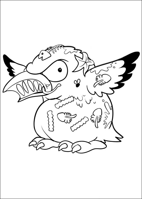 The Trash Pack Coloring Pages Books 100 Free And