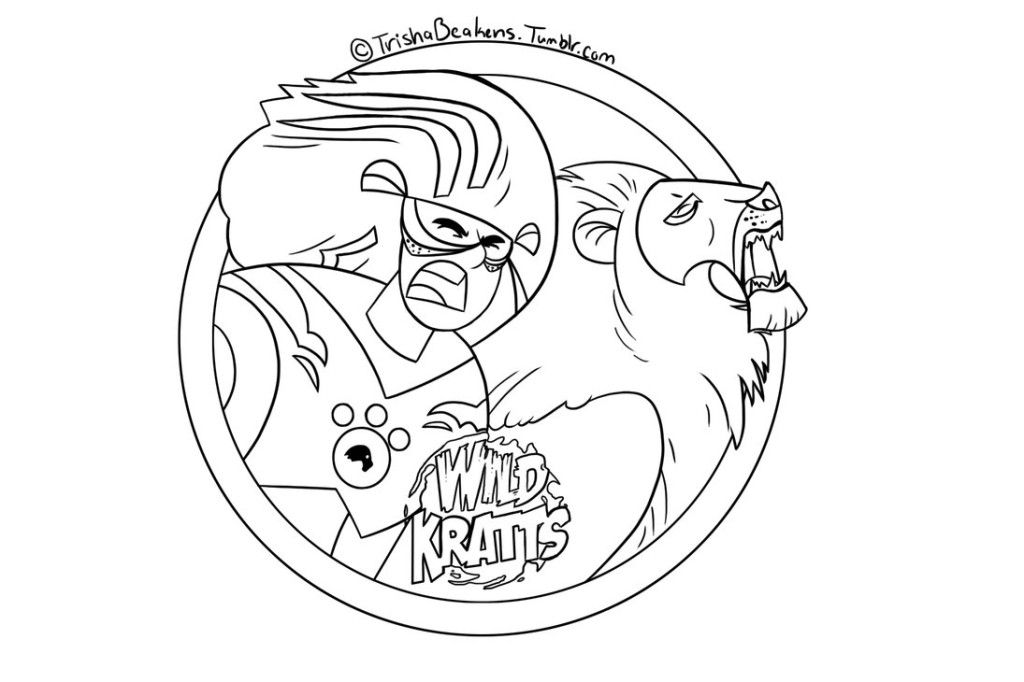 picture regarding Wild Kratts Printable Coloring Pages identify â–· Wild Kratts: Coloring Webpages Textbooks - 100% Absolutely free and