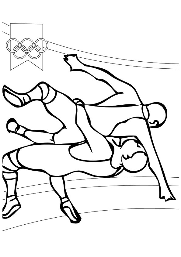 ▷ Wrestling: Coloring Pages & Books - 100% FREE and printable!