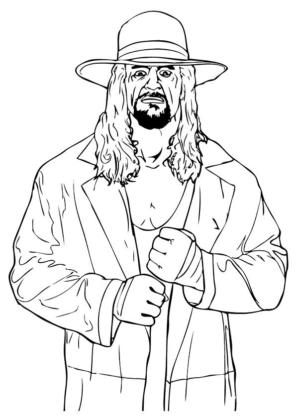 Coloring Page Wwe Kids John Cena - Coloring Home | 842x595
