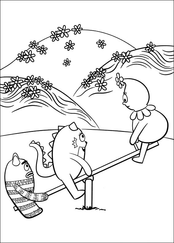 ▷ Yo Gabba Gabba!: Coloring Pages & Books - 100% FREE and ...