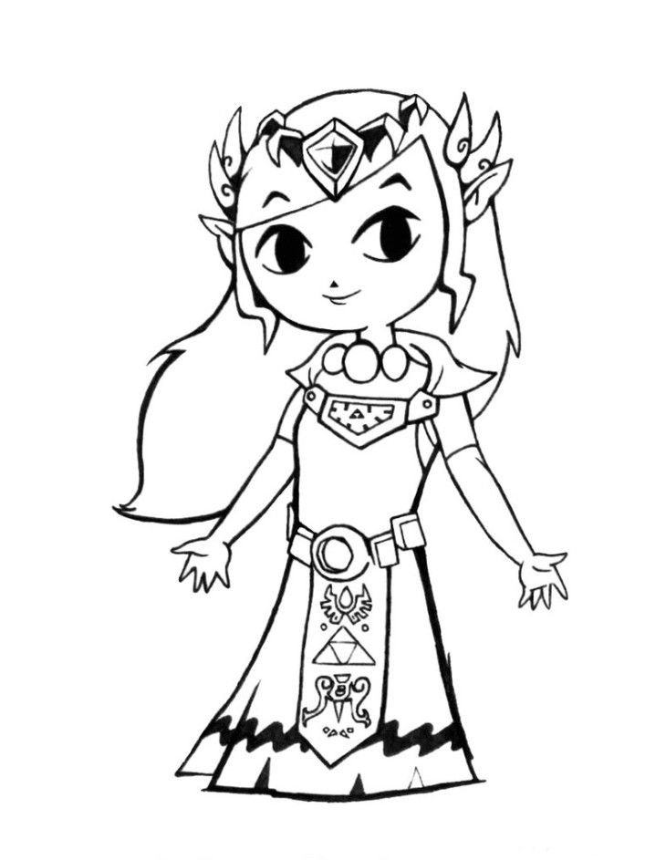 Zelda: Coloring Pages & Books - 100% FREE and printable!
