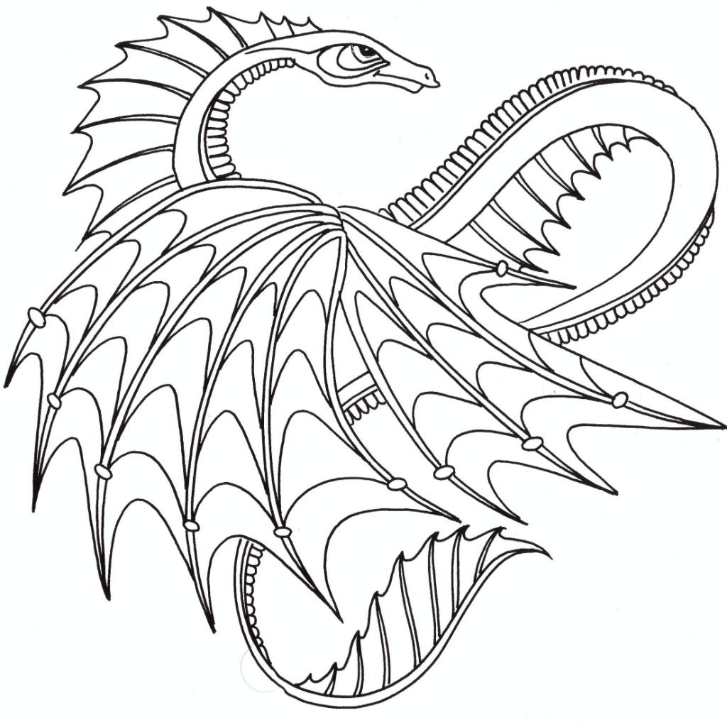 Dragon Coloring Pages Books 100 Free And Printable