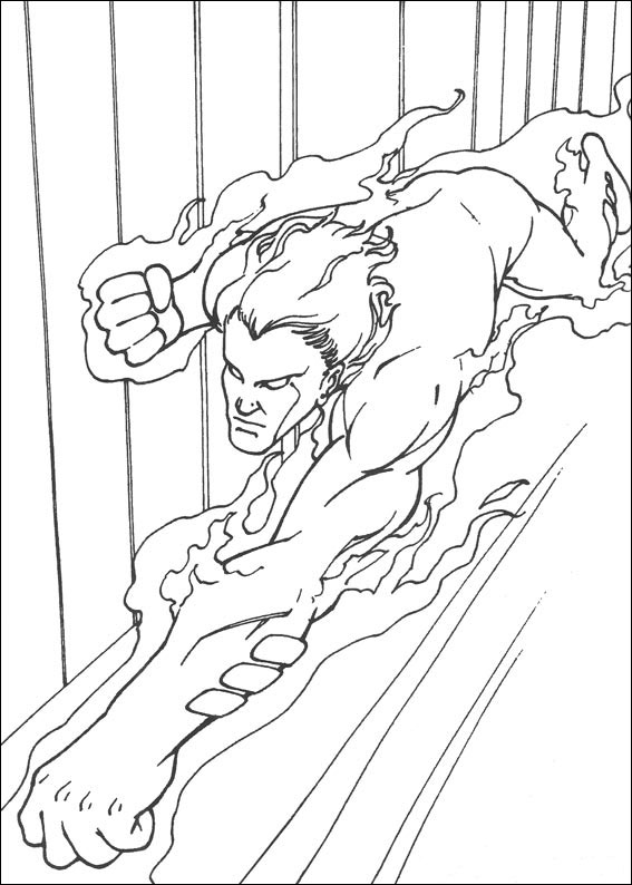 Fantastic Four Coloring Page - Coloring Home | 794x567