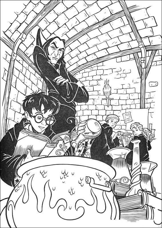 E2 96 B7 Harry Potter Coloring Pages Books 100 Free And Printable