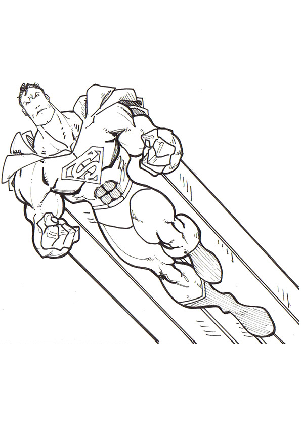 Superman Coloring Pages Books 100 Free And Printable