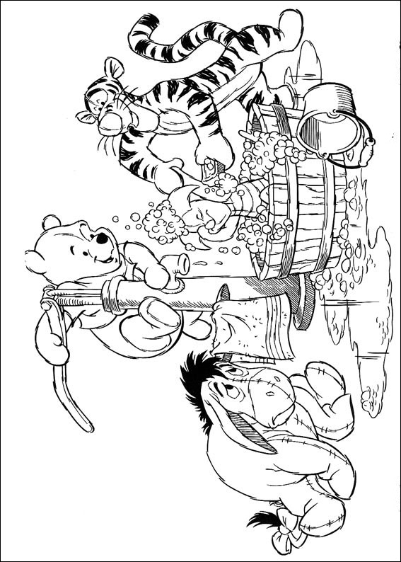 Winnie The Pooh Coloring Pages Books 100 Free And Printable